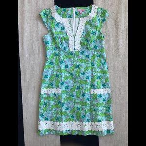 Lilly Pulitzer Cap Sleeve Dress - Alligators